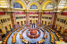 The 19 most beautiful libraries in the U.S. - Curbedclockmenumore-arrow : Stunning buildings designed for architecture-loving bibliophiles  The Main Reading Room of the Library of Congress in Washington D.C