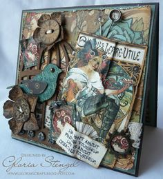 Scraps of Life: Graphic45 and Tim Holtz