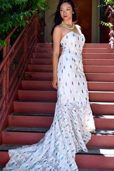 #mermaid #gown #handmade #fashion #j.c.perkinsdesigns #sewing