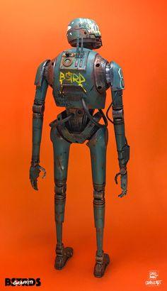 Star Wars Models, Human Settlement, Vinyl Toys, Star Wars Art, Cyber, Character Art, Graffiti, Batman, Superhero