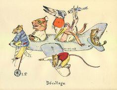 """""""Decollage""""  Emmanuel Pierre"""