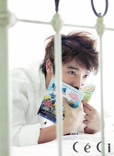 Super Junior's Lee Dong Hae CéCi Korea Magazine September 2012