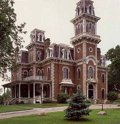 Architecture - Chapter 8 - Second Empire, Rococo Revival - Terrace Hill; Des Moines iowa; 1867 - 1869 now Governor's Mansion