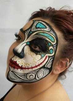 Beautifully adorning the face with SUCH details! ♥ And so different!