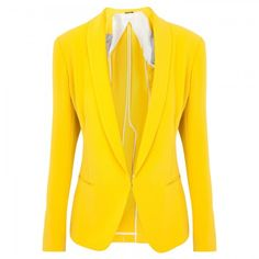 Rag and Bone Yellow Tuxedo Jacket - love a bright blazer, great for layering. Black, purple, navy...so many teams!