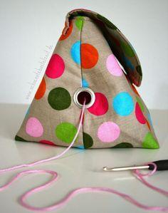 Purse Patterns, Knitting Patterns, Crochet Patterns, Knitting Kits, Crochet Shell Stitch, Knit Crochet, Crochet Potholders, Fabric Crafts, Sewing Crafts