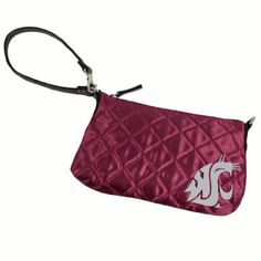 NCAA Washington State Cougars Quilted Wristlet, Maroon by Little Earth. Save 12 Off!. $17.66. NCAA Washington State University Quilted Wristlet, Maroon