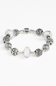 Women's PANDORA 'A Cloud's Silver Lining' Charm - Sterling Silver