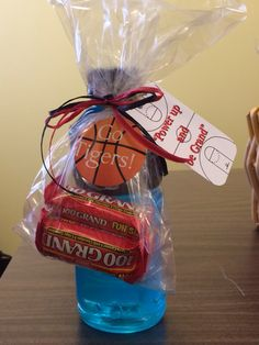 homecoming football player treat bag and box - Google Search