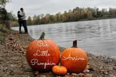 Fall maternity photo shoot idea, would he cute with babies name spelt out