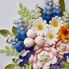 1179 Best Quilling 3d Flowers 3 Images Quilling 3d Quilling