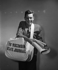 Throwback Thursday: Salute to newspaper delivery boys