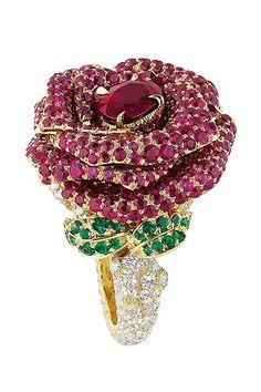 Collection 'Le bal des roses' de Dior Joaillerie