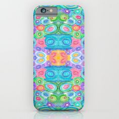 Colorful phone case iphone 6 iphone 5 by ArtfullyFeathered samsung galaxy ipod