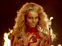 WATCH: Rebecca Romijn Sizzles (In Nothing But Body Paint!) in Skin Wars Promo http://www.people.com/article/rebecca-romijn-skin-wars-season-3