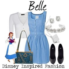 Here is Belle Outfit Gallery for you. Belle Outfit modern belle on the town outfit shoplook. Belle Outfit disney belle princess dress co. Disney Princess Outfits, Disney Themed Outfits, Disney Bound Outfits Casual, Robes Disney, Disney Dresses, Disney Clothes, Casual Cosplay, Cosplay Outfits, Dapper Day Outfits