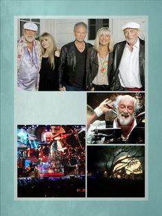 Fleetwood Mac Collage Created By Tisha 01/27/15