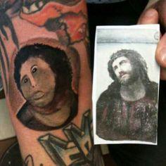 If that Spanish lady did tattoos . Spanish Woman, A Good Man, My Drawings, Make Me Smile, I Tattoo, Tatting, Restoration, Funny, Hate