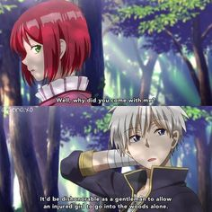 Shirayuki and Zen - Akagami no Shirayuki-hime