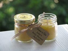 Box of 25  Beeswax Candle Jar Favors Wedding by LuluIslandHoney
