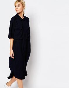 Whistles Longline Shirt Dress
