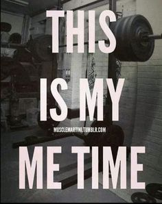 this is me time