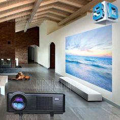 Excelvan CL720D LED Projector with Digital TV Slot