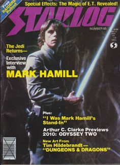 1982 Starlog No. 65 Mark Hamill, 2010 Space Odyssey, Vintage Science Fiction  #Starlog