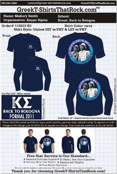 Crazy Kappa Sigma Bologna Formal shirt! ;) http://www.greekt-shirtsthatrock.com