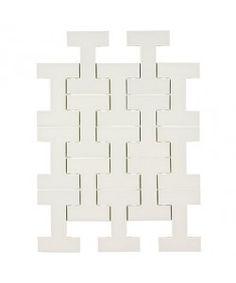 Mosaic tile plus mosaic white ceramic tile for kitchen backsplash modwalls kiln i beam ceramic tile silver fox malvernweather Choice Image