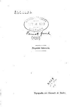 Studi di leggende popolari in Sicilia e nuova r...