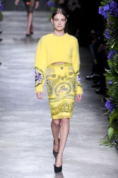 Défile Givenchy Prêt-à-porter Automne-hiver 2011-2012 - Look 42