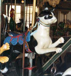 Balboa Park Carousel Herschell-Spillman 3rd Row Cat                                                                                                                                                     More