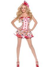Adult Cupcake Girl Costume - Party City
