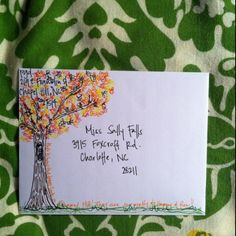 artistic envelopes | envelope art | Stamps & Mail Art & Mail Fun