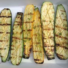 Grilled Zucchini with Spicy Salt | My Edible Journey