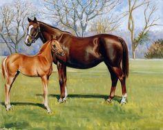 Linda Picken Art | By Linda Picken - art, grass, horse, Linda Picken, love