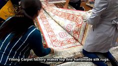 Handmade Silk Carpets & Rugs----How to pack hand knotted silk carpet