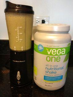Healthy Fit Goddess: Vega One French Vanilla Smoothie #BestSmoothie #VegaSmoothie