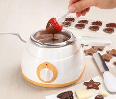 Urządzenie do wyrobu czekoladek i pralinek.