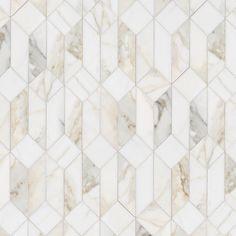 Floor Patterns, Tile Patterns, New Ravenna, Stone Mosaic, Bathroom Inspiration, Bathroom Ideas, Mellow Yellow, Rustic Kitchen, Kitchen Backsplash