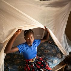 Hint: It's probably in your backyard right now. Mosquitoes are a nuisance everywhere, but in many parts of the world, they spread deadly malaria. Your donation today will help us deliver 25x the amount of mosquito nets to protect kids like Fenny in Zambia. Just $50 could save dozens of children's lives. Helping Children, Mosquitoes, Thankful, Backyard, Kids, Young Children, Patio, Boys, Backyards