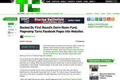 http://techcrunch.com/2013/06/19/pagevamp-dorm-room-fund/ ... | #Indiegogo #fundraising http://igg.me/at/tn5/