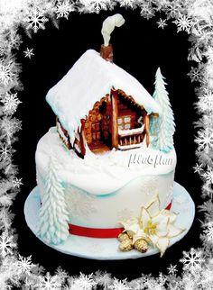 Winter Fairytale Cake - Cake by MLADMAN