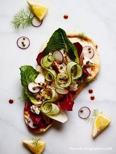 chicken salad naan