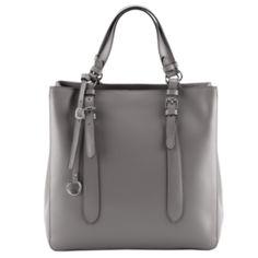 Szara torebka Wittchen to moje ostatnie odkrycie. Bardzo przypadła mi do gustu, kształtem przypomina shopper bag z ZARY. Praktyczna, stylowa, no i szara....