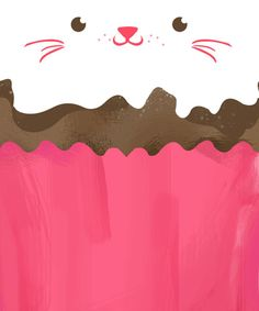 Kitten Cupcake (potrait version)