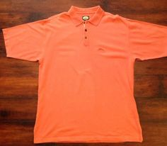 Polos Hard-Working Tommy Bahama Mens Size Large L Classic Polo Light Blue Swordfish Marlin Logo Delicacies Loved By All