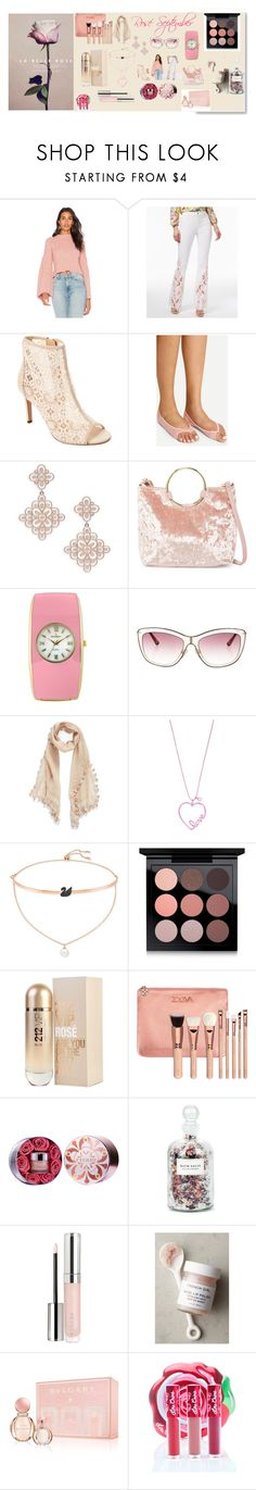 """Rosé September"" by illuminatab on Polyvore featuring endless rose, INC International Concepts, Nanette Lepore, Saks Fifth Avenue, T-shirt & Jeans, Peugeot, Valentino, La Fiorentina, Betsey Johnson and Swarovski"