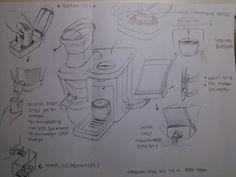 수업시간에 한 페르소나를 위한 제품 스케치 (기능)